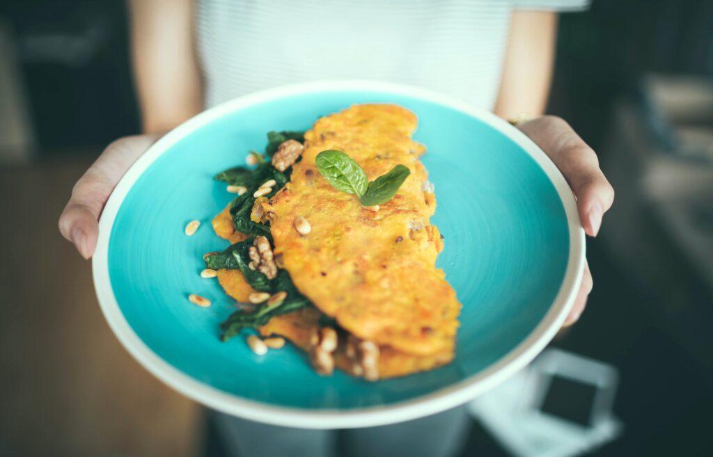 egg omelet dish